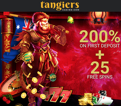 Tangiers casino free spins