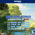 Betreels Casino 10 Free Spins on Sign up