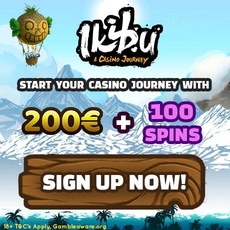 Ikibu CASINO - 200EUR + 100 Free Spins
