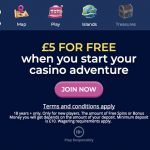 CasinoHeroes UK is now Live! Get a £5 FREE No Deposit Bonus &  a 200% Bonus + 200 Free Spins on Starburst to enjoy the Island Life!