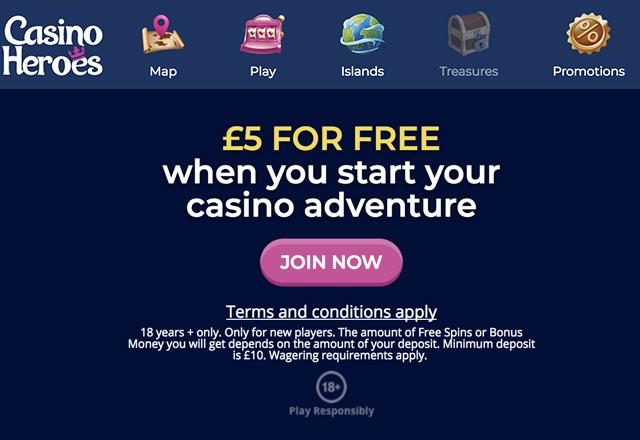 CasinoHEROES UK