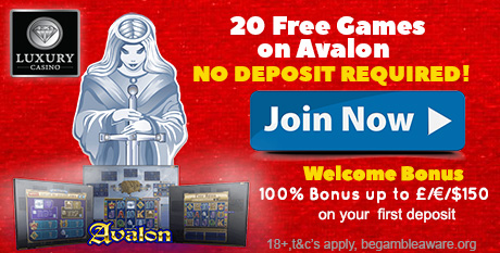 LUXURY CASINO - 20 Free Spins No Deposit