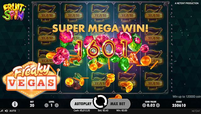 freaky Vegas no Deposit free spins